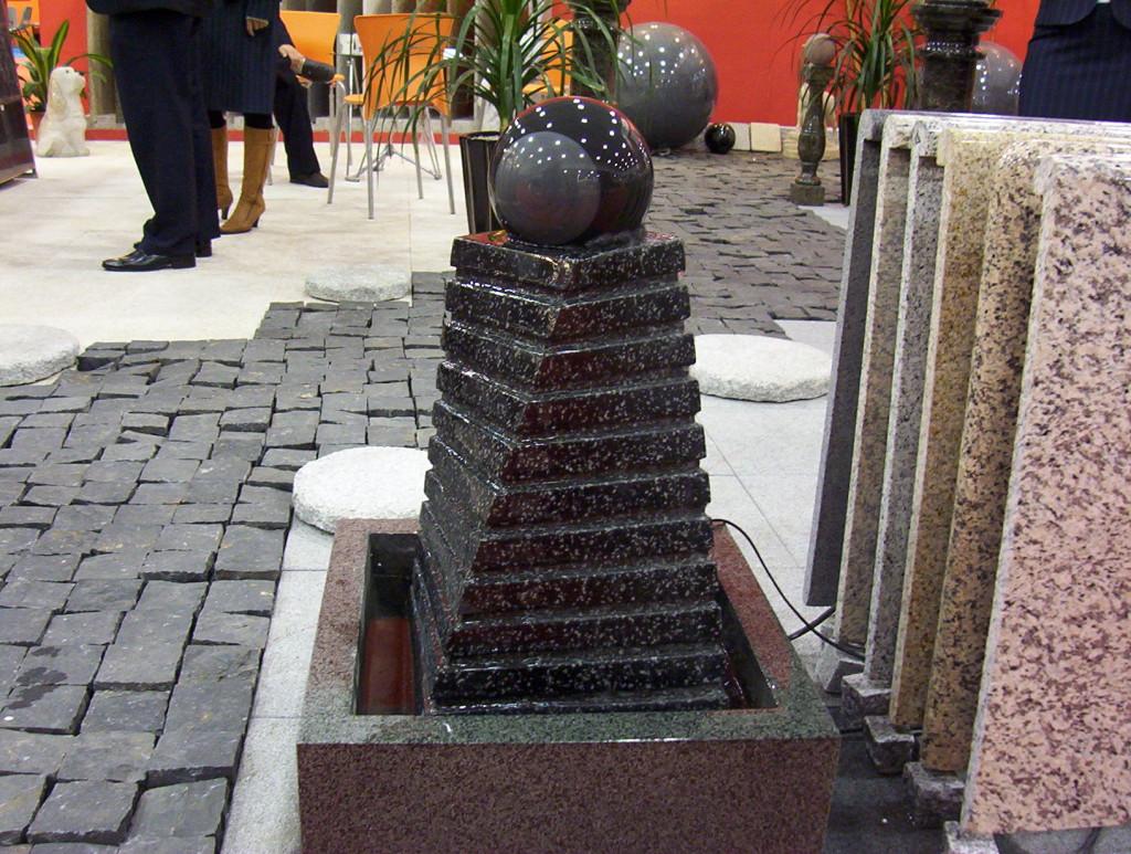 Sochy a fontány